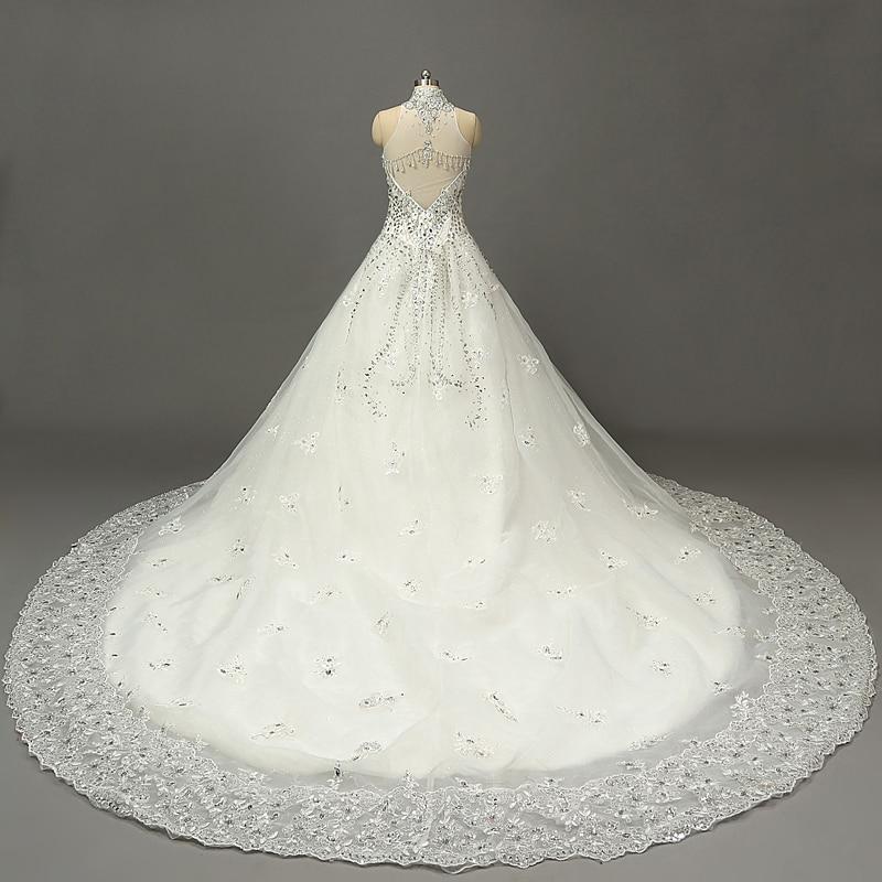 imperio vestido de noiva caro de lujo una línea de vestidos de novia