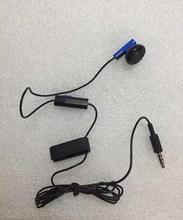 10 sztuk/partia oryginalny dla ps4 slim pro kontroler gier słuchawki słuchawki mikrofon słuchawki zestaw głośnomówiący