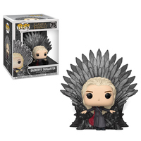 Funko POP New Arrival Daenerys Targaryen 75# Official Game of Thrones Action Figure Collectible Model Toys For Children Kid Gift