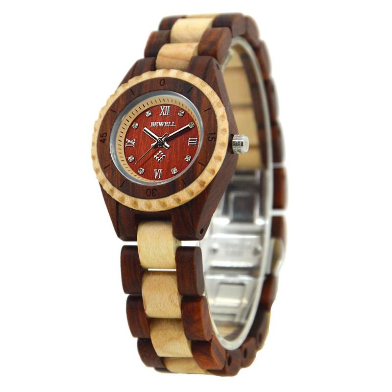 2018 wooden quartz wrist watches with sandalwood strap Calendar clock men sport watch erkek kol saati men wooden watch for male quartz wristwatches sandalwood strap calendar clock luxury brand wood watch with gift box friend 100bg