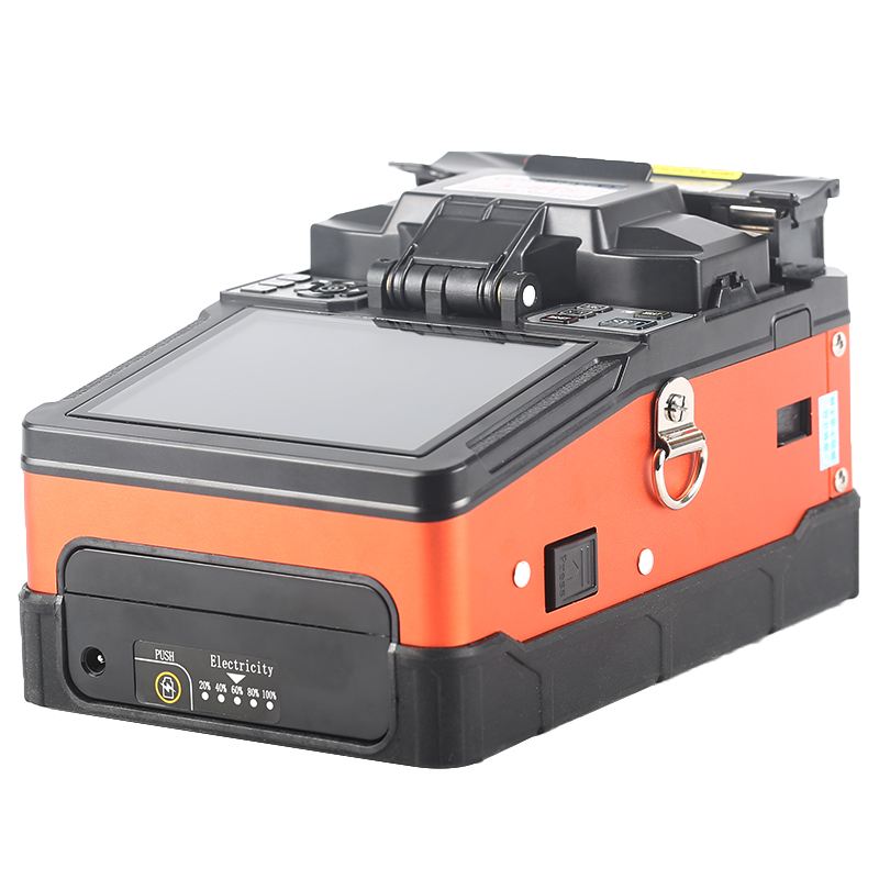 Nuevo Producto A-81S FTTH fibra óptica de soldadura máquina de empalme de fibra óptica empalmador de fusión