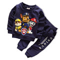 New Baby Boys Girls clothing set Fashion Sport Clothes Children Spring 2-pc Boys Clothing Set Girls Clothes Suit boys clothes