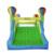 Yard nuevo tamaño grande tobogán inflable y con área para que jueguen los niños parque de atracciones castillo hinchable