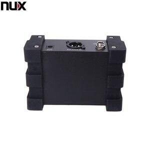 Image 5 - Professionale NUX PDI 1G Chitarra Iniezione Diretta Phantom Scatola di Alimentazione Mixer Audio Para Fuori Design Compatto Custodia In Metallo