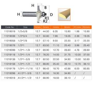 Image 2 - 1/2 Schacht Frezen Voor Hout Tungsten Carbide Cutter Bit Arden Tafel Edge Router Bit Prrofessional Grade Houtbewerking Gereedschap