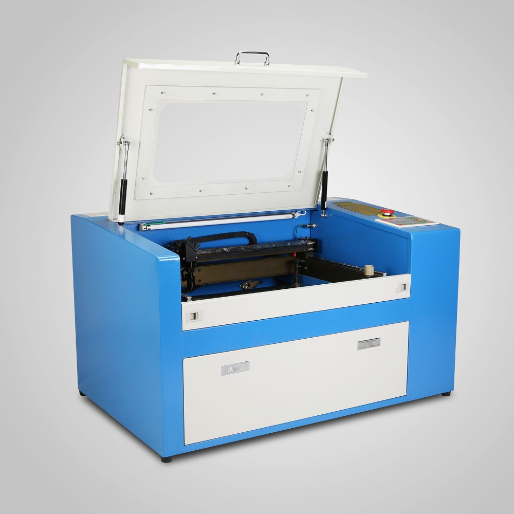 50W CO2 USB Laser Engraving Cutting Machine Engraver Cutter Working Area 300mm X 500mm