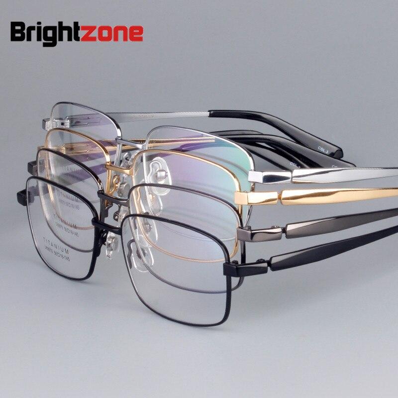 Bekleidung Zubehör Korrektionsbrillen Opeco Vollrand Reinem Titan Männer Brillen Rahmen Verschreibungspflichtigen Brillen Brillen 8835