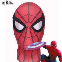 Ling Bultez High Quality Captain America Spiderman Mask Civil War Spierman Mask With Lens