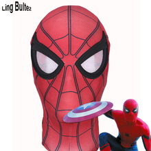 цена на High Quality Captain America Spiderman Mask Civil War Spierman Mask With Lens