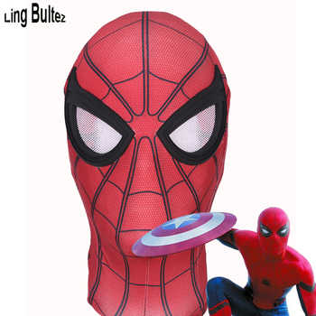 Ling Bultez High Quality Captain America Spiderman Mask Civil War Spierman Mask With Lens - DISCOUNT ITEM  19% OFF Novelty & Special Use