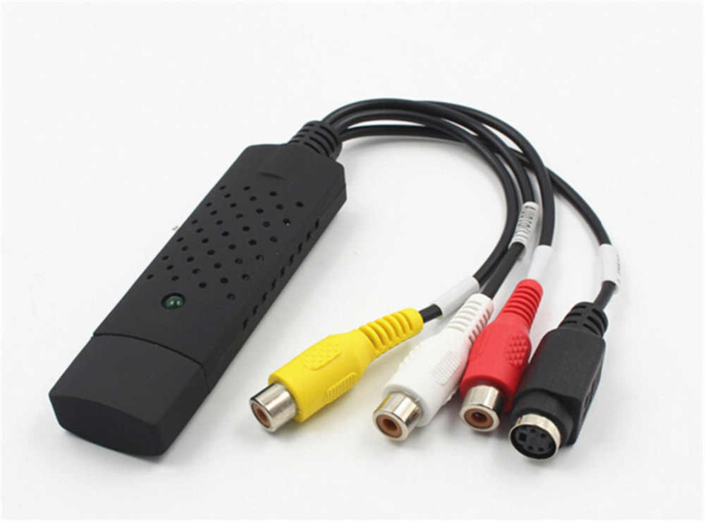 JRGK USB 2,0 Захват hd-видео ТВ DVD VHS адаптер DVR рекордер конвертер аналоговый видео аудио в цифровой для Windows XP Vista 7