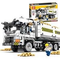 799+Pcs Technic Series Engineering Earthmoving Vehicle Building Blocks Compatible Legoings City Sets Heavy Cargo Transport