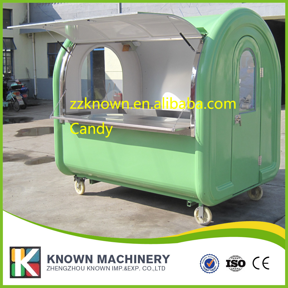 Mobile Kitchen Food Van / food trailer/China Multi-function Mobile Food Carts the best selling long 280cm mobile food carts trailer ice cream truck snack food carts customized colors with free shipping