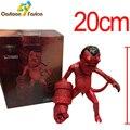 Anime Filme O Exército Dourado Hellboy 20 CM Ação PVC Figura Estatueta Toy Dom Raro HELLBABY ANIMATED toy Modelo Brinquedos