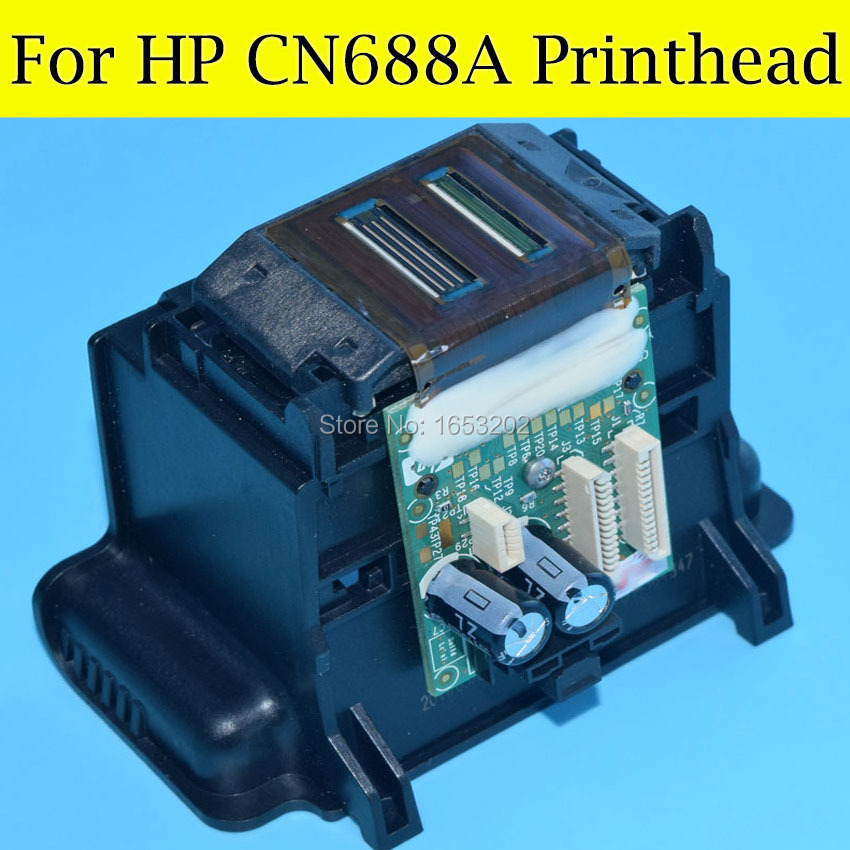 The Fashion CN688A Printhead Print head For HP B211A 6510 3070A 6520 5520 5522 5525 5524 4610 4620 4615 3525 3520 Printer Head original 688 cn688a print head printhead 4 slot for hp 3070 3520 3525 5525 4620 5514 5520 5510 4625 4615 printer