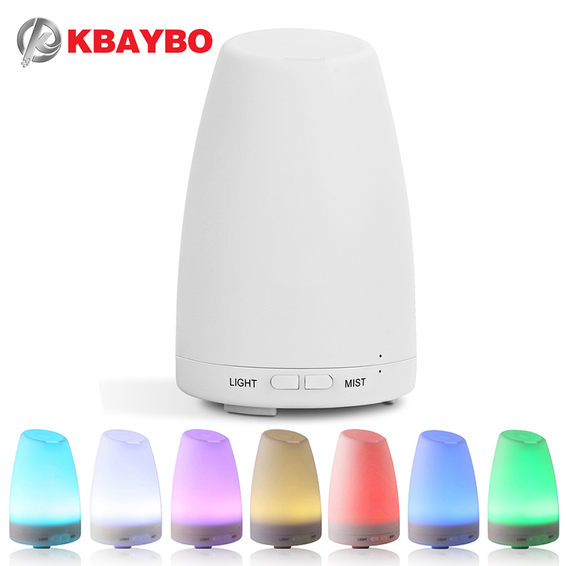 Ultrasonic air Humidifier Essential Oil Diffuser Aromatherapy Cool Mist maker desktop LED changing light aroma diffuser for home 2016 new hot sale led light aromatherapy air humidifier essential oil aroma diffuser ultrasonic mist maker for home appliance