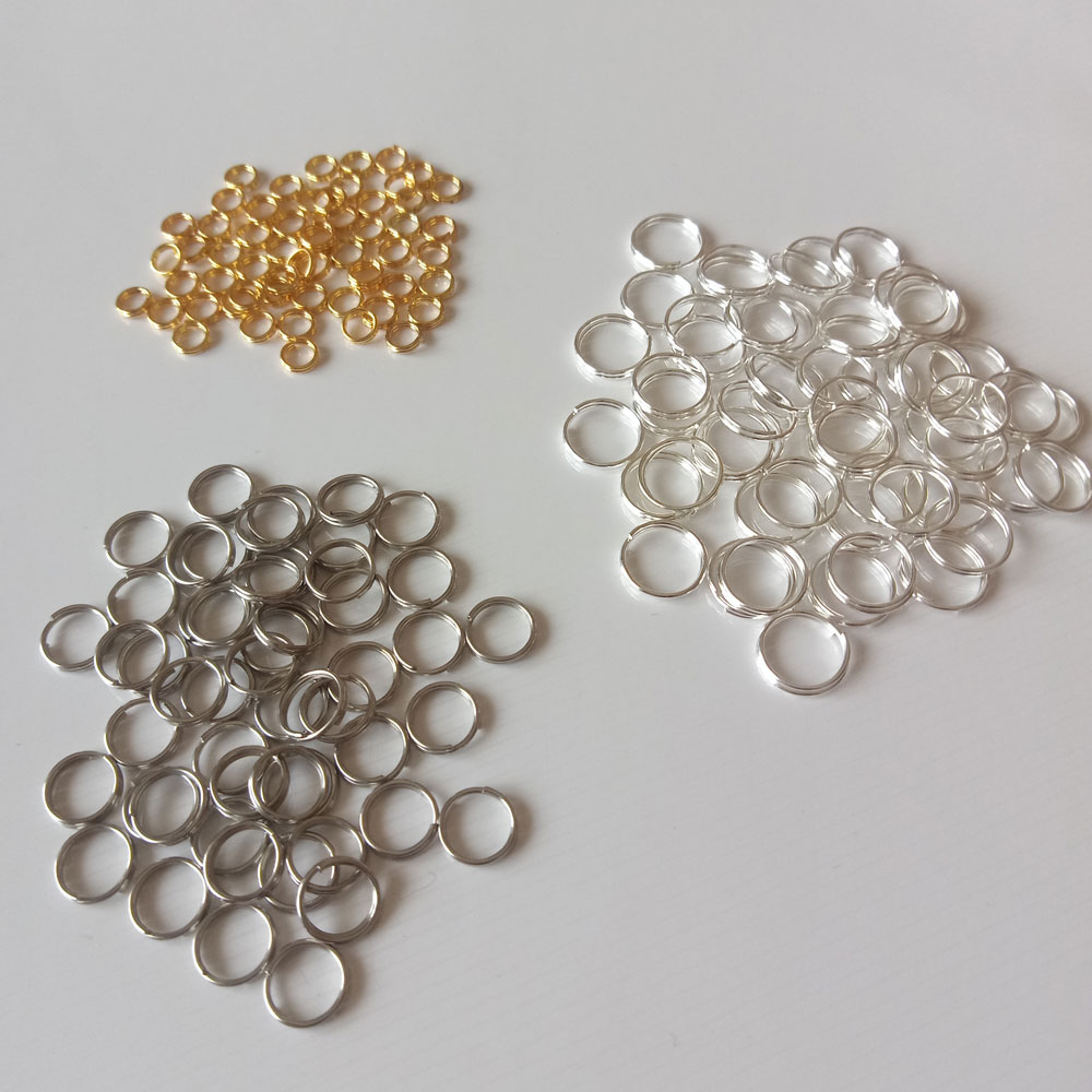 100pcs Fashion Jewelry Double circle round fitting for Necklace/Earring/Bracelet Findings Components diy Jewelry Accessories100pcs Fashion Jewelry Double circle round fitting for Necklace/Earring/Bracelet Findings Components diy Jewelry Accessories