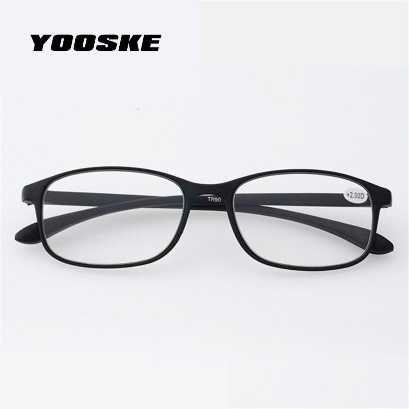 9630f52a91 YOOSKE Ultra-light material glasses spectacles Reading Glasses Women Read  Antifatigue Eyeglasses TR90 Reading Glasses