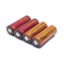 8pcs/lot TrustFire IMR 18500 3.7V 1100mAh Rechargeable Battery High Magnification Lithium Batteries for LED Flashlight Headlamps