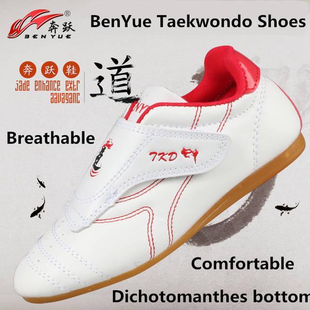 e22ce53e3ae023 Online Shop Martial Arts Shoes Cheap taekwondo shoes male Female kid Adult  WTF PU leather TKD karate Breathable kungfu Tai Chi Shoes sneaker