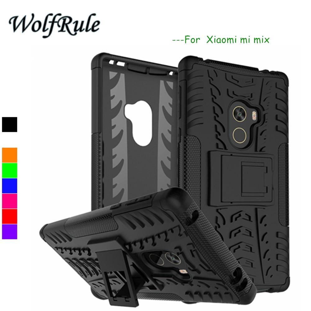Чехол wolfrole Tank для Xiaomi mi mix, противоударный силиконовый + пластиковый чехол для телефона, чехол для Xiaomi mi mix, чехол для Mi mix Funda