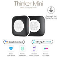 Geeklink Smart Home Mini WiFi+IR+RF APP Remote Controller AC TV Siri Voice Control for Amazon Alexa Google Home US EU Standard