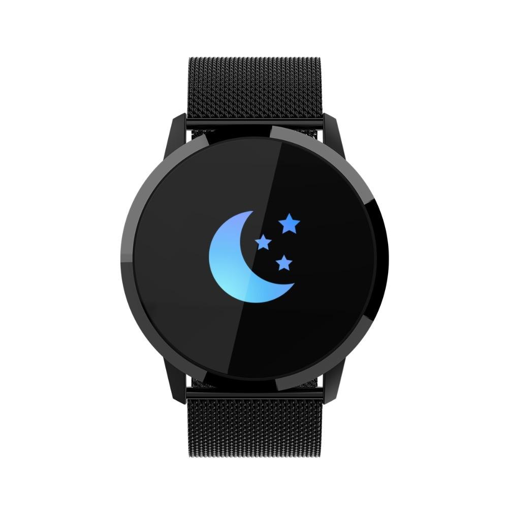 Kudely Q8 montre intelligente android étanche smartwatch hommes montres 2018 de luxe marque de luxe hommes montre