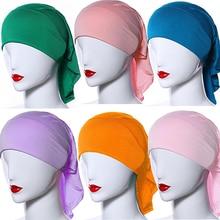 New Arrival Women's Islamic Muslim Soft Modal High Elasticity Islamic Hijab Scarf Headwear