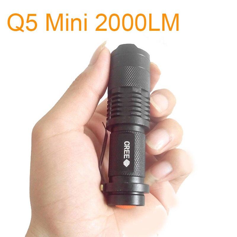 led tático lanterna tocha Distância de Iluminação : 200-500 M