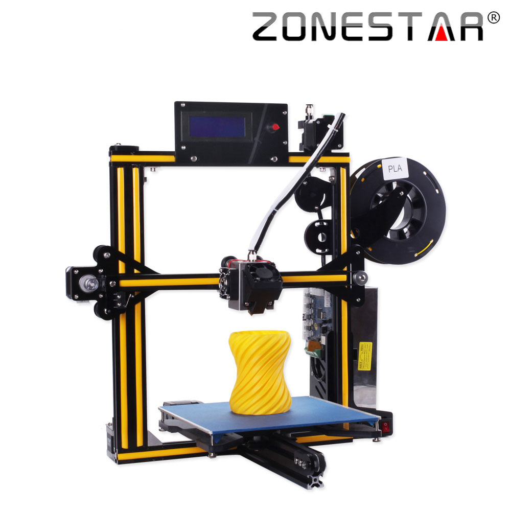 ZONESTAR Newest Upgradable Full Metal Aluminum Frame Optional Auto Leveling Filament Run out Detect 3d printer