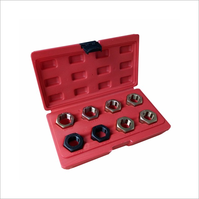 8Pcs CV Joint Thread Repair Chaser Kit