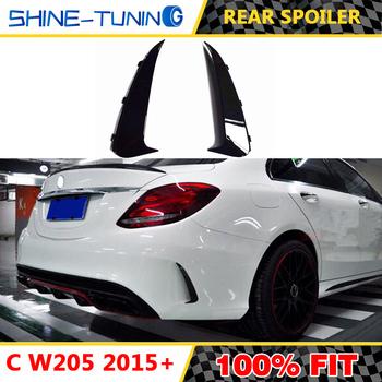 Nadaje się do klasy C W205 C450 C63 C43 coupe sport nóż powietrzny tylne skrzydło zaprojektowany z myślą o stylu W205 C200 C180 C220 C250 C300 2014-19 tanie i dobre opinie shine-tuning DECORATION Z tyłu CHINA
