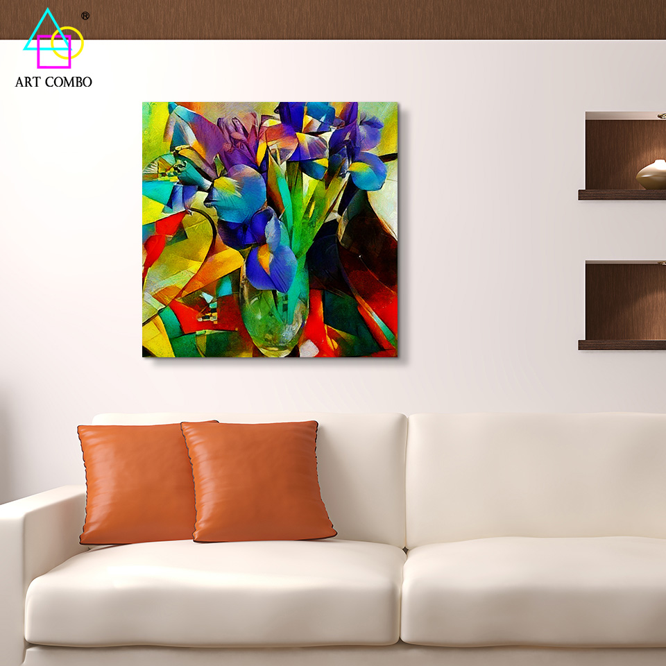 Home decor paintings - Home Decor Paintings Abstract Artwork Painting Flowers From Picasso Home Decor Wall