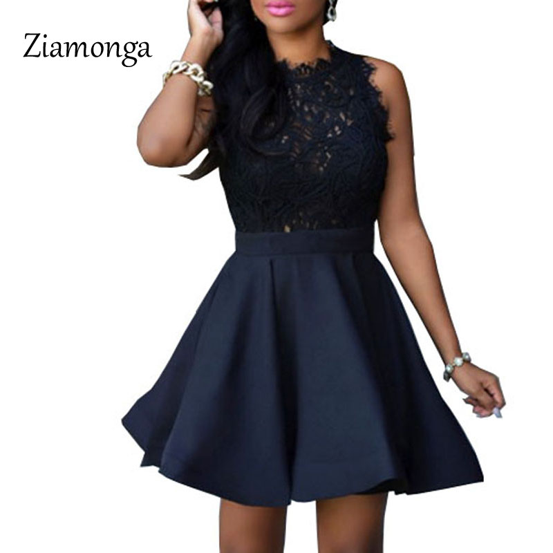 796ec50cc3 Ziamonga Brand 2017 Women Vintage Pleated Dress Summer Retro Style Sexy  Pattern Slim Casual Party Swing