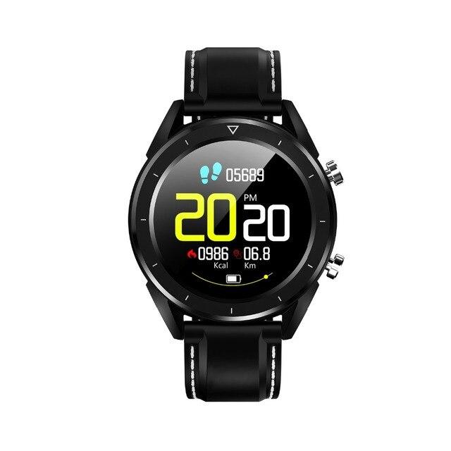 Reloj inteligente para hombre, reloj deportivo impermeable, compatible con ciclismo, correr, nadar, Fitness, compatible con ritmo cardíaco, la presión arterial