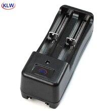 Универсальное зарядное устройство со светодиодным дисплеем и 2 слотами для литий ионных аккумуляторов 3,7 в, 18650, 16340, 14500, 10440
