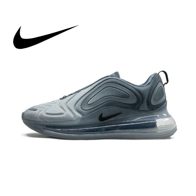 Original Autêntica Nike Air Max 720 Tênis de Corrida dos homens Confortável Respirável Sapatos Desportivos 2019 Primavera New Arrival AO2924-002