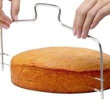 G & T из нержавеющей стали торт Slicer регулируемый проволочный торт резак хлеб пицца выравниватель выпечки кондитерские изделия кухонные гаджеты аксессуары