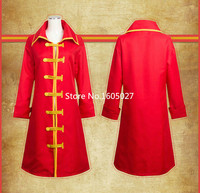 ONE PIECE Monkey D Luffy Cloak Jackets Trench Uniform Suit Cosplay Anime Costume Any Size NEW