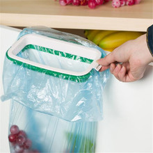 Home Wider bestselling Hanging Kitchen Cupboard Cabinet Tailgate Stand Storage Garbage Bags Rack high quality 922 Drop Shipping