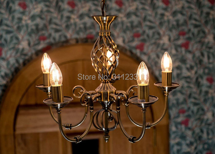 4w C35 Led Candle Bulb E14 E12 Es Edison Vintage Candelabra Filament Chandelier Lighting Replace 40w Incandescent In Bulbs S From