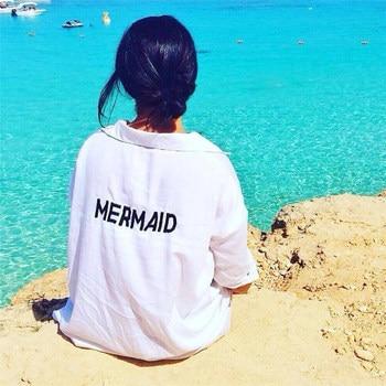 Cover-up Beach MERMAID Robe 1