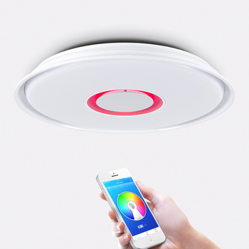 Smart led ceiling light RGB dimming 24W 36W APP control ceiling light bluetooth speaker & music modern LED ceiling light