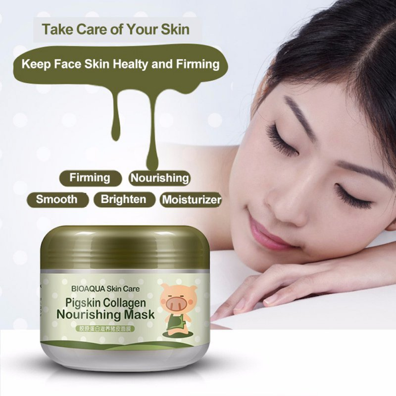 Korean Collagen Pig Skin Face Mask 100g Anti Aging Cream Anti Wrinkle Magic Facial Mask Ageless Products Cosmetics