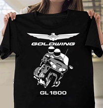 Camiseta de mejor calidad Goldwing GL1800 Motocycles para hombre