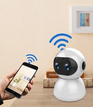 Newest Wireless Remote WIFI Camera IP Cam Baby Child Plush Monitor Intercom H.264 IR Night Vision Panda Speaker PC Surveillance