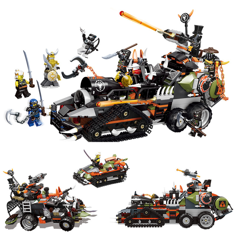 91005 Dieselnaut Ninja Warrior Toy Building Blocks Playset Battle Tank Figures Hunted Car Model Toys Gift Compatible Legoings-in Blocks from Toys & Hobbies on AliExpress - 11.11_Double 11_Singles' Day 1