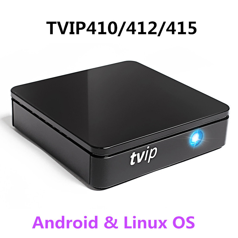 2018 Stable Mini Set Top Box TVIP410 412 415 TV Box Linux and Android 6 0