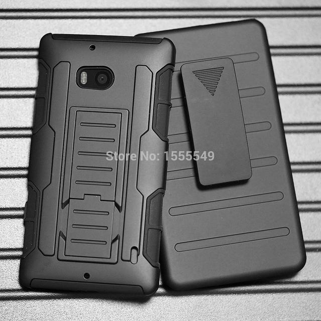 Case For Nokia Lumia Icon 929 930 Rugged Armor Impact Holster Hybrid Hard Cover