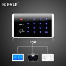 Kerui K16 Беспроводная RFID сенсорная клавиатура для Wifi PSTN GSM домашняя сигнализация Система безопасности 433 МГц